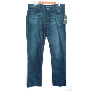 NWT 7 For All Mankind Standard Straight Leg Jeans
